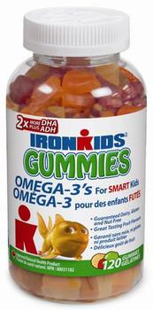 IronKids Essentials Gummies Omega-3 | 120 Gummies