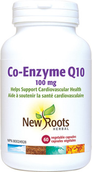 NR-Co-Enzyme Q10 100mg | 60 Vegetable Capsules