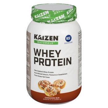 Kaizen Naturals New Zealand Whey Protein - Cinnamon Bun | 840 g
