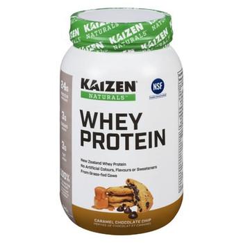 Kaizen Naturals New Zealand Whey Protein - Caramel Chocolate Chip | 840 g