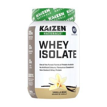 Kaizen Naturals Isolate Whey Protein - Vanilla Bean | 840 g