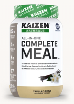 Kaizen Naturals All-In-One Complete Meal - Vanilla Flavour | 854 g
