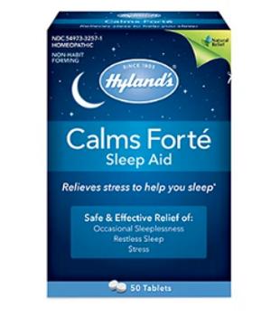Hyland's Calm Forté Sleep Aid - Homeopathic Medicine | 50 Tablets