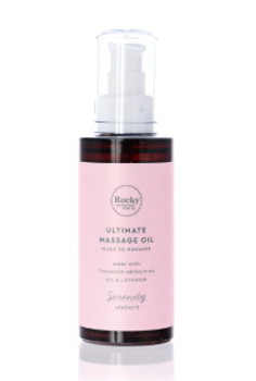 Rocky Mountain Soap Co. Serenity Ultimate Massage Oil | 100 mL