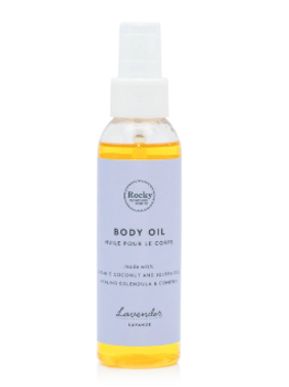 Rocky Mountain Soap Co. Lavender Body Oil | 125 mL