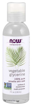 Now Vegetable Glycerine Oil | 118 ml