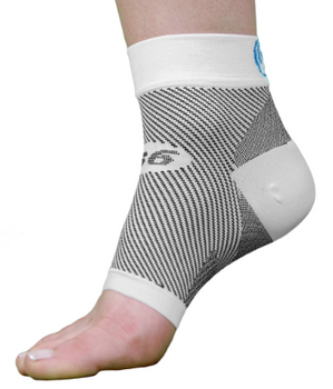 OrthoSleeve FS6 Compression Foot Sleeve Pair |  Extra-Large US Men's Size 13.5-Plus