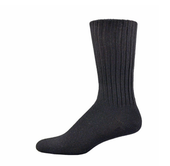 Simcan Easy Comfort Diabetic Socks for Sensitive Feet - Black | Medium