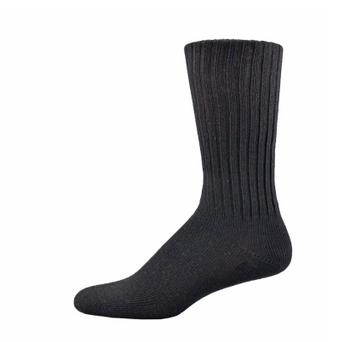 Simcan Easy Comfort Diabetic Socks for Sensitive Feet - Black | Large