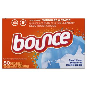 Bounce Dryer Sheets - Fresh Linen   80 Sheets