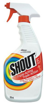Shout Triple-Acting Laundry Stain Remover | 650 ml