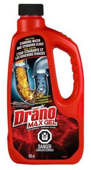 Drano Max Gel Clog Remover | 900 ml