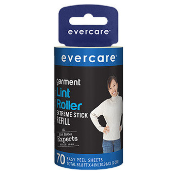 Evercare Garment Lint Roller Extreme Stick Refill
