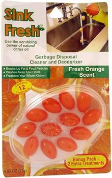 Sink Fresh Orange  | 12 count
