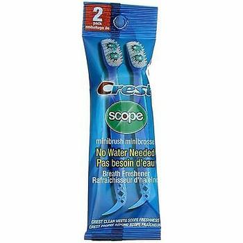 Crest Scope Mini Brush Breath Freshener | 2 Pack