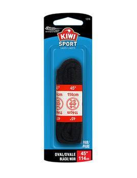 "Kiwi Sport Laces - Round Black | 45"""