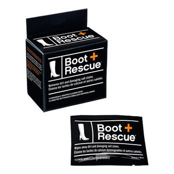 Boot+ Rescue Cleaning Wipes | 10 Individually Wrapped Cleaning Wipes