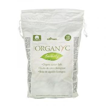 Organyc Beauty Cotton Balls   100 Pieces