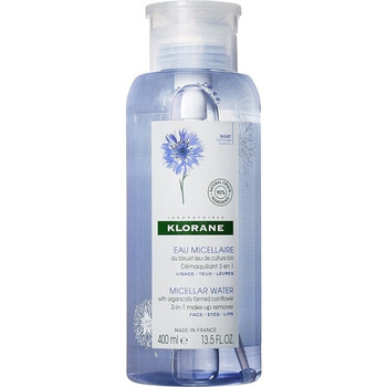 Klorane Floral Water Make-Up Remover with Soothing Cornflower | 400 ml