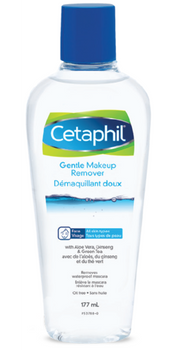 Cetaphil Gentle Make-Up Remover with Aloe Vera, Ginseng & Green Tea | 177 ml