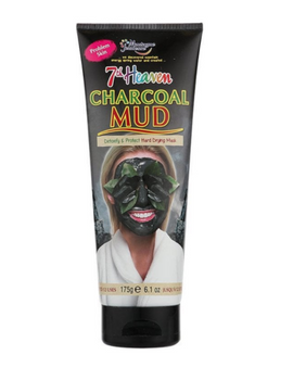 7th Heaven Charcoal Hard Drying Mud Mask for Problem Skin | 175 g
