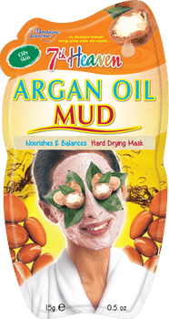 7th Heaven Argan Oil Mud for Normal, Combo & Oily Skin | 15 g
