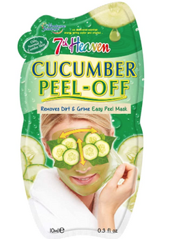 7th Heaven Cucumber Peel-Off Mask for Oily, Normal & Combo Skin | 10 mL
