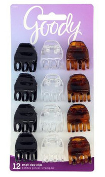 Goody Small Claw Clips | 12 pcs