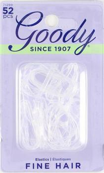 Goody Clear Elastics for Fine Hair | 52 pcs