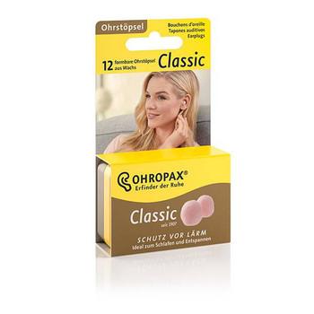 Ohropax Classic Wax Earplugs | 6 Pairs