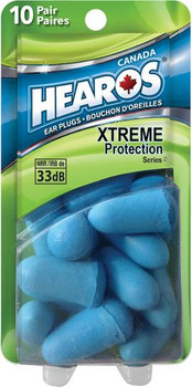 Hearos Xtreme Protection Ear Plugs | 10 Pairs