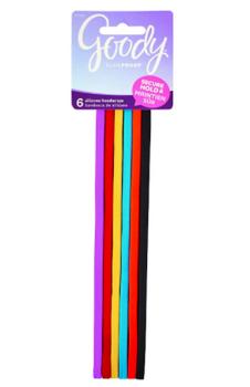 Goody SlideProof Silicone Headwraps- Multicolour   6 pcs