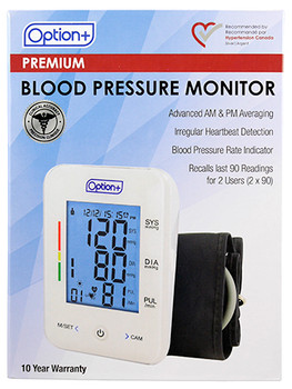 Option+ Premium Blood Pressure Monitor