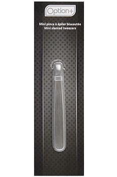 Option+ Mini Slanted Tweezers