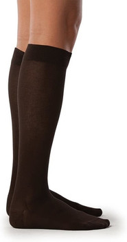 Sigvaris 151 Zurich Collection Women's Sea Island Cotton Socks - Brown | SIZE A