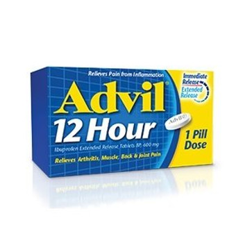 Advil 12 Hour Extended Release Ibuprofen 600 mg | 85 Tablets