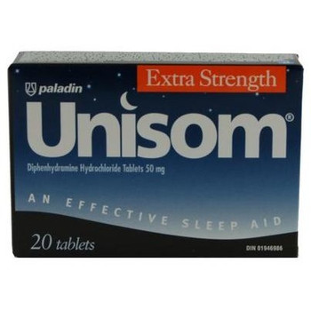 Unisom Extra Strength Sleep Aid Tablets | 20 Tablets