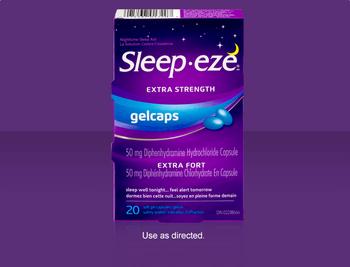 Sleep Eze Extra Strength Gel Caps | 20 Soft Gel Capsules