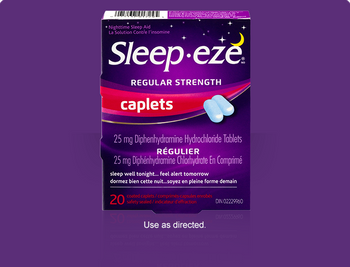 Sleep Eze Regular Strength Caplets | 20 Coated Caplets