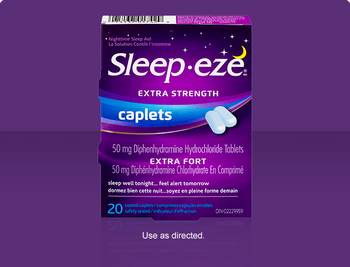 Sleep Eze Extra Strength Caplets | 20 Coated Caplets