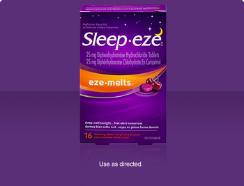 Sleep Eze Eze Melts Dissolving Tablets | 16 Tablets