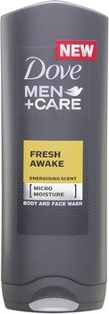 Dove Men + Care Fresh Awake Energising Scent Face & Body Wash | 250 ml