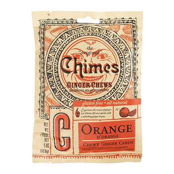 Chimes Ginger Chews - Orange | 141.8 g