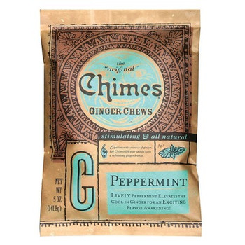 Chimes Ginger Chews - Peppermint | 141.8 g