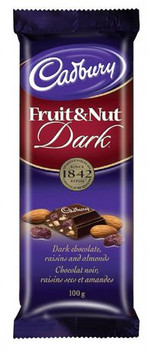 Cadbury Fruit & Nut Dark Chocolate Bar | 100 g