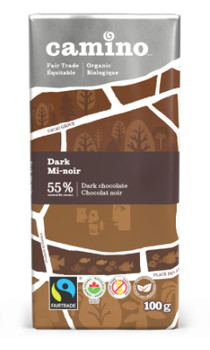 Camino Dark 55% Cocoa Chocolate Bar | 100 g