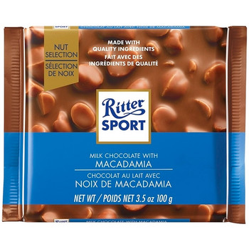Ritter Sport Milk Chocolate with Macadamia | 100 g