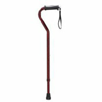 Card Health Care Designer Canes - Cane Offset with Strap | 300 lbs Weight Capacity