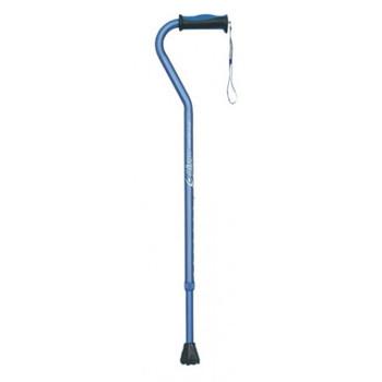 Airgo Comfort-Plus Aluminium Cane with Offset Handle - Blue