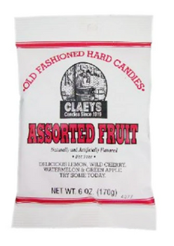 Claeys Old Fashioned Hard Candies Assorted Fruit | 170 g